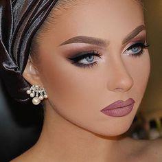 Face make up Flawless Makeup, Glam Makeup, Gorgeous Makeup, Love Makeup, Bridal Makeup, Wedding Makeup, Makeup Looks, Hair Makeup, Beauty Make-up