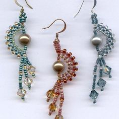 """Pearls On the Halfshell"" Earrings"