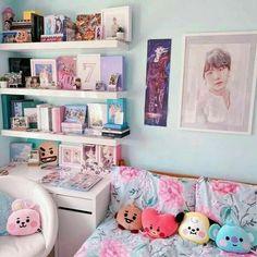 Army Room Decor, Cute Room Decor, Teen Room Decor, Room Ideas Bedroom, Wall Decor, Wall Art, Turquoise Bedroom Decor, Army Bedroom, Blue Bedroom