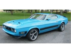 1973 Ford Mustang Mach...sky is the limit
