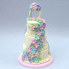 Dollhouse Miniature Wedding Cakes | Recent Photos The Commons Getty Collection Galleries World Map App ...