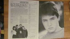 Trevor Bullock, Davis Rules, Two Page Vintage Clipping and Pinup