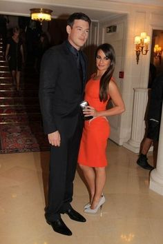 Lea Michele and Cory Monteith. I will miss this relationship greatly. keep her in your thoughts.