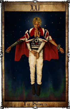 Bowie Tarot Collection - XXI - The World by Triever on DeviantArt