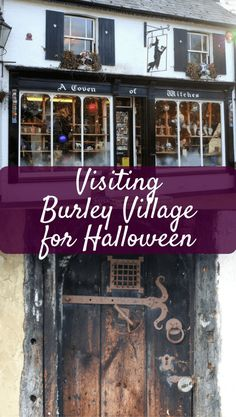 Why You Should Visit Burley Village for Halloween