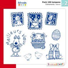 #Scrapbooking #Artemio #Stamps