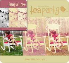 The CoffeeShop Blog: Introducing Johnna's Tea Party PS/PSE Action and Tutorial!