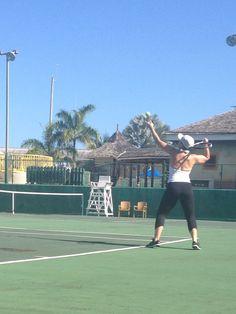 Montego Bay Jamaica - Tennis in the morning