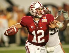 Andrew Luck, Stanford Cardinal - Love him!