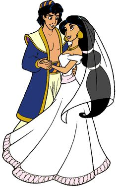 Jasmine and Aladdin\'s Wedding Day | Jasmine and Aladdin | Pinterest ...