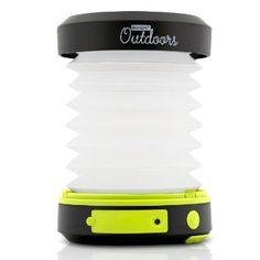 Linterna solar con Powerbank de emergencia - LED, recargable con USB y plegable. Lámpara versátil para acampada, seguridad, patios o de viaje. Luz alimentada por el sol portátil e innovadora