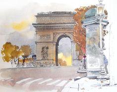 """Широкое окно в париж открывает книга """" Paris Sketchbook """" издательстваSt. Martin's Press. Удивительные иллюстрации художника Фабриса Мойре переносят нас на улицы города, наполненные шармом и ароматами Французкой столицы. Имейте пожалуйста в виду, что пост сделан только в…"""