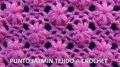 Punto tejido a crochet # 3 para colchitas de bebe - points crocheted