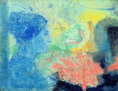 Great art from Art Authority for iPad: Shades of Sleep by Redon, Odilon