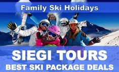 Best Ski Deal January with Siegi Tours. Siegi Tours offers great ski packages for adult, families and groups. Book now the best ski deal. Family Ski Holidays, Tours Holidays, Holidays In January, Ski Austria, Ski Deals, Ski Packages, Snowboard Shop, Funny Home Videos, Best Ski Resorts