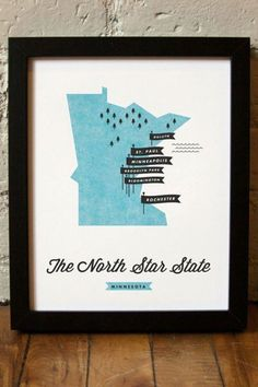 I would love to make one just like this with my favorite places pinned