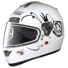 Nolan N63 Scratch Metal White