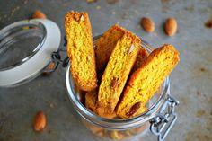 Healthy saffron biscotti (gluten free, no sugar added) - Hälsosamma saffransbiscotti (glutenfritt, utan tillsatt socker)