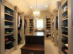 Pinterest Luxery Closets Man S Luxury Custom Closet Designed By