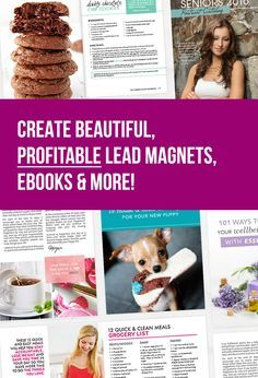 "What if there was a way to build your email list by creating the perfect free download or ""lead magnet...?"" One that will attract more of the RIGHT readers and grow your email list?   I'd love to share my TOP secrets and simple step-by-step process on how to do just that for your own business in a fun one-hour workshop. Click to learn more!"
