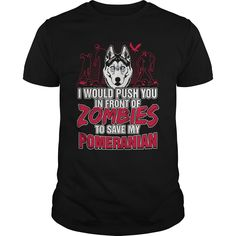 I Would Push You In front Of Zombies To Save My Pomeranian
