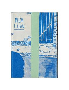 Melon Pillow by Ashley and Sarah McNeil #design #editorial #fanzine