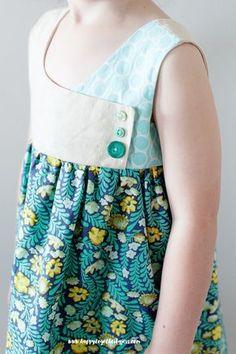 Sewing Patterns Free Free Girls Dress Pattern: The August Dress Pattern Sizes Little Girl Dress Patterns, Sewing Patterns For Kids, Dress Sewing Patterns, Little Dresses, Sewing For Kids, Baby Sewing, Free Sewing, Skirt Patterns, Clothes Patterns