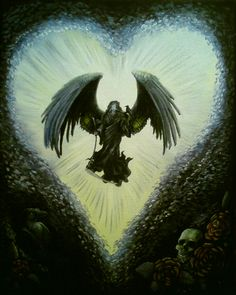He is called also angel of death. He guide with love the souls of dead to other side. Here he looks more darker than good So this is not . Archangel Azrael, Angel Of Death, Skull And Bones, Dark Art, Dark Side, Devil, Paths, The Darkest, Angeles