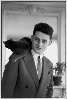 FRANCE. French writer, Roger NIMIER. 1950. © Henri Cartier-Bresson