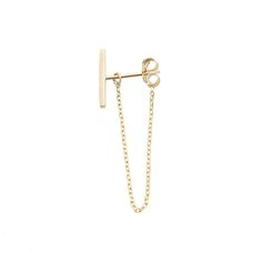 Vale Jewelry Earring Chain with Backing