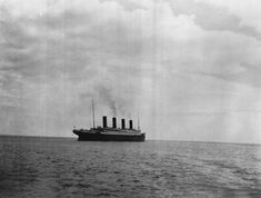 The British ocean liner embarks on its fateful trip in April 1912. This is the last known photo of T... - Purpleclover.com