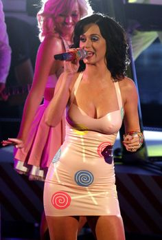 """Katy Perry Photos Photos - Singer Katy Perry performs during the opening of the Italian version of """"X Factor."""" - Katy Perry Performing On Italian """"X Factor"""""""