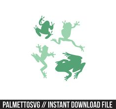 Tree frogs Svg, Cricut Cut Files, Silhouette Cut Files  This listing is for an INSTANT DOWNLOAD. You can easily create your own projects. Can be used