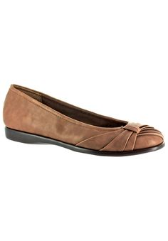 Giddy Flat by Easy Street  -   Roamans. Taupe, Brown, Black, Blue