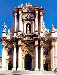 Duomo of Syracusa- alleged to be the Oldest Church in Europe.   I think not.   This I'll check.