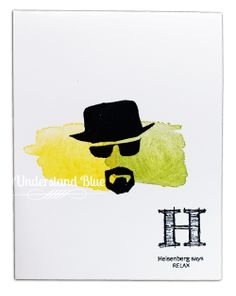 Understand Blue: Because I Always Do What Heisenberg Tells Me To Do