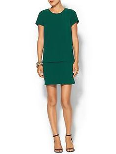 Also in red and black.  Very high reviews. Piperlime Collection  Layered Shift Dress | Piperlime