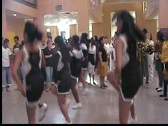 The ghetto beat cheer! Watch it!