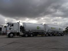 B double petrol tanker
