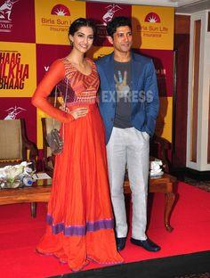Farhan Akhtar and Sonam Promote Bhaag Milkha Bhaag