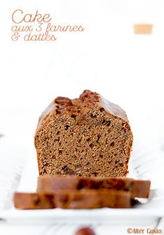 Quand je dis 3 farines, il s'agit d'un savoureux mélange, à parts égales, de châtaigne, sarrasin et blé, qui donne des arômes vraiment uniques à un cake, ou gâteau. Cette association fait partie de mes préférées, alors ce cake aux...