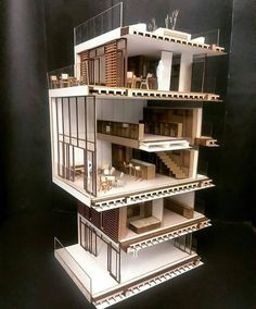 55 Ideas Design Portfolio Ideas Architecture Projects For 2019 Maquette Architecture, Architecture Model Making, Architecture Board, Architecture Portfolio, Concept Architecture, Amazing Architecture, Architecture Details, Modern Architecture, Roof Design