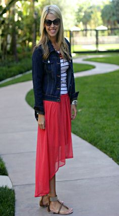 Perfection Possibilities ~ high-low skirt