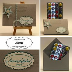 Janas Bastelwelt: Adventskalender to go