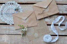 Винтажные свадебные приглашения Everyday holiday | Свадебные вендоры | Мой Один День #weddinginvitations