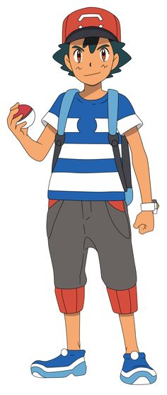 Ash Ketchum - Bulbapedia, the community-driven Pokémon encyclopedia All Pokemon Games, Pokemon Hat, Ash Pokemon, Pikachu, Ash Costume, Ash Hat, Mega Rayquaza, Pokemon Ash Ketchum, List Of Characters