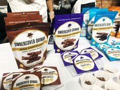 Are you looking for a snack and yet want to enjoy sweets? Then Undercover Quinoa is just for you with their low sugar and gluten-free quinoa chocolate snacks. Perfect for those moments when you are craving a snack. Crispy Quinoa, Dc Food, Chocolate Snacks, Low Sugar, Undercover, Pop Tarts, Cravings, Nom Nom, Snack Recipes