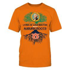 Auburn Tigers - Living Roots North Dakota T Shirt Auburn Shirts, Alabama T Shirts, Auburn Tigers, Auburn Football, North Dakota, North Carolina, Dallas Cowboys, West Virginia, Sports Shirts