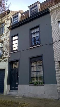 Dark facade