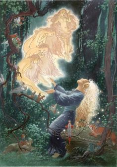 Charles Vess illustration from #stardust